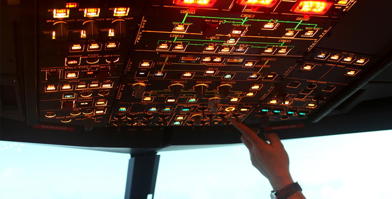 60 Min. Flugsimulator A320 in Dresden