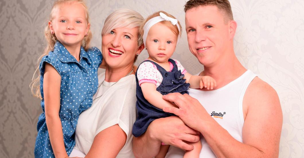 Familien Fotoshooting in Hamburg-Landwehr