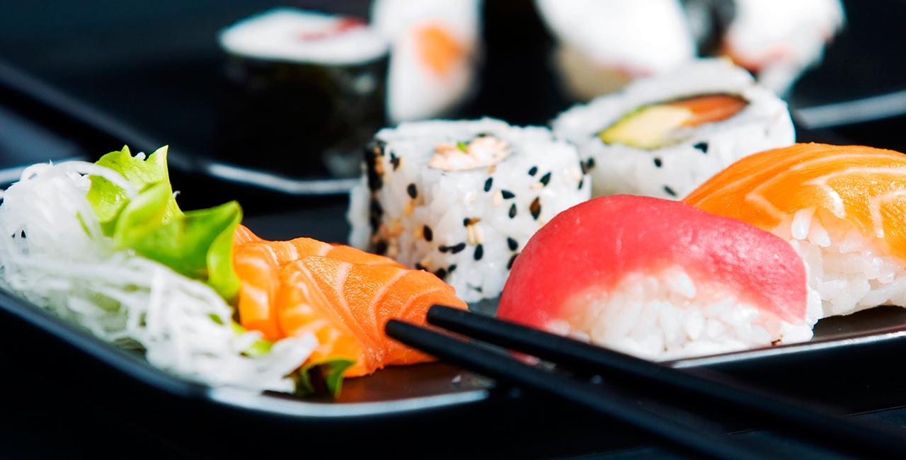 Kulinarische Stadtführung `Sushi to go` in Düsseldorf
