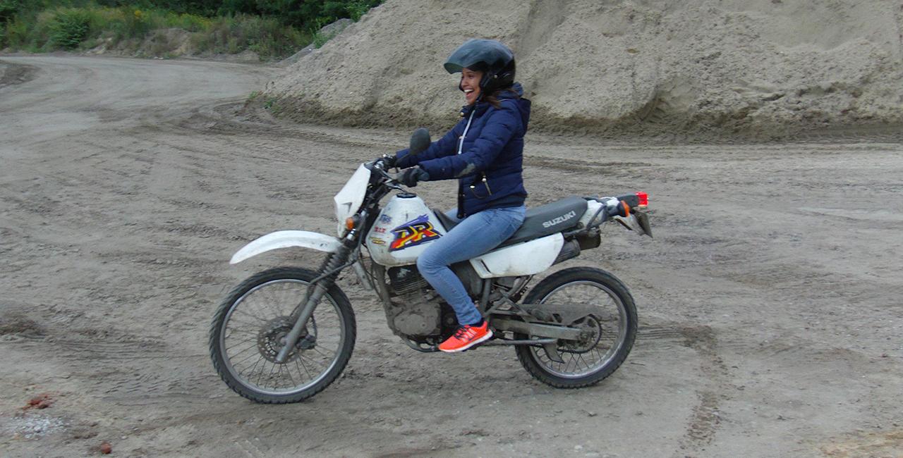 Enduro fahren