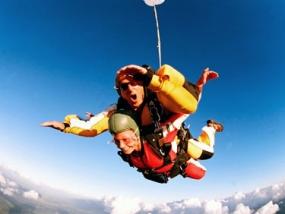 Fallschirm Tandemsprung in Dahlem, NRW