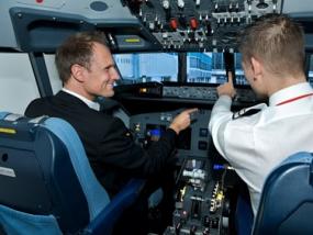Flugsimulator Airbus A 320 in Zürich-Wollishofen, Schweiz - Erlebnis Geschenke