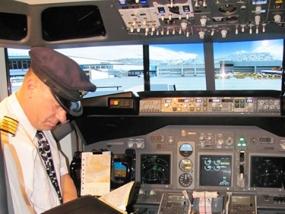 Flugsimulator Boeing 737 Grafenhausen