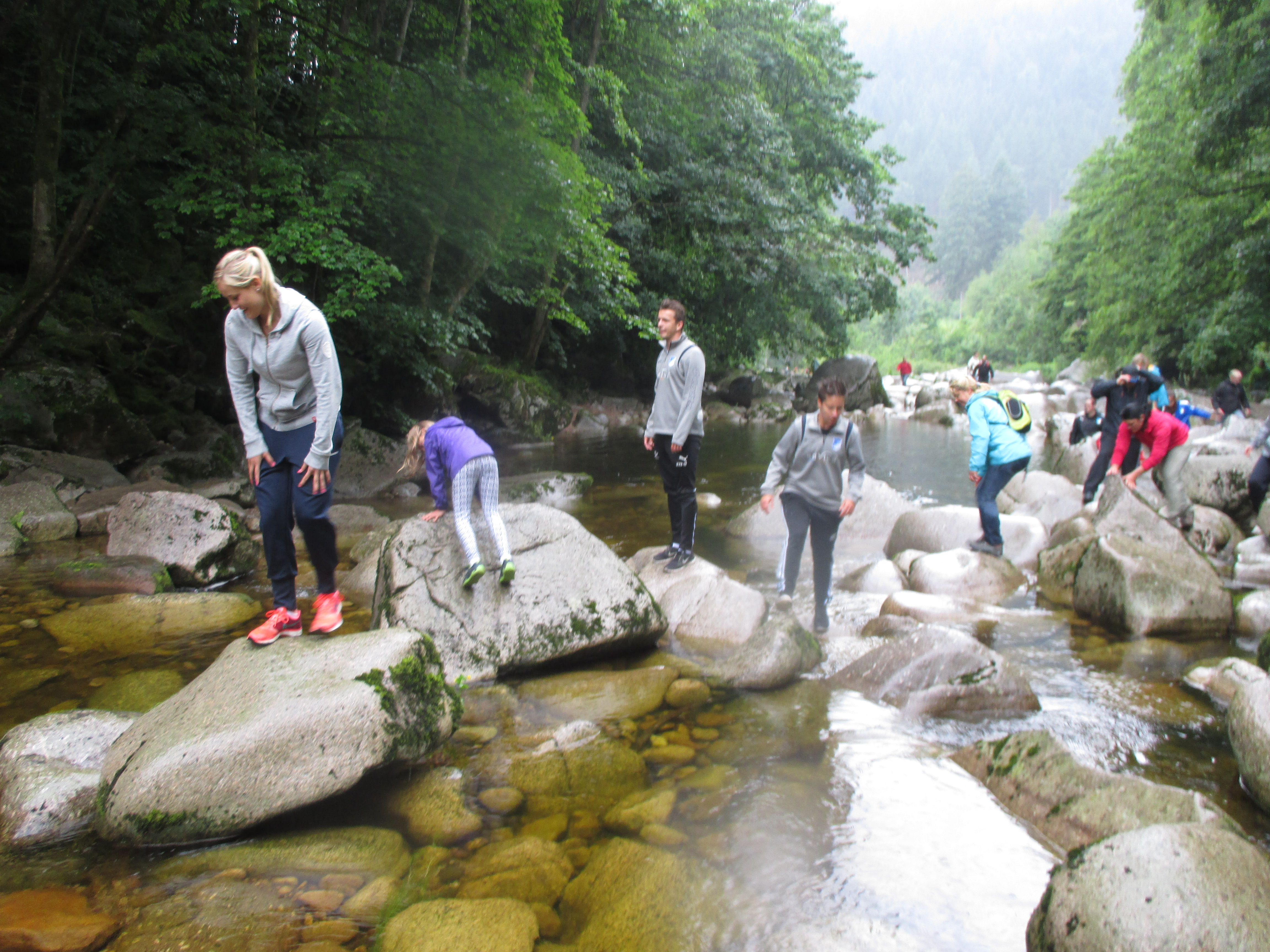 Canyoning Tour in Forbach, Schwarzwald