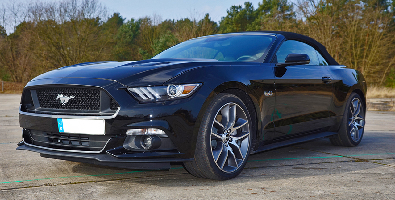 Ford Mustang GT Cabrio Wochenende mieten in Berlin