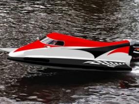 Formel 1 Powerboat Renntaxi auf der Ostsee in Neustadt