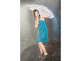Fotoshooting im Regen