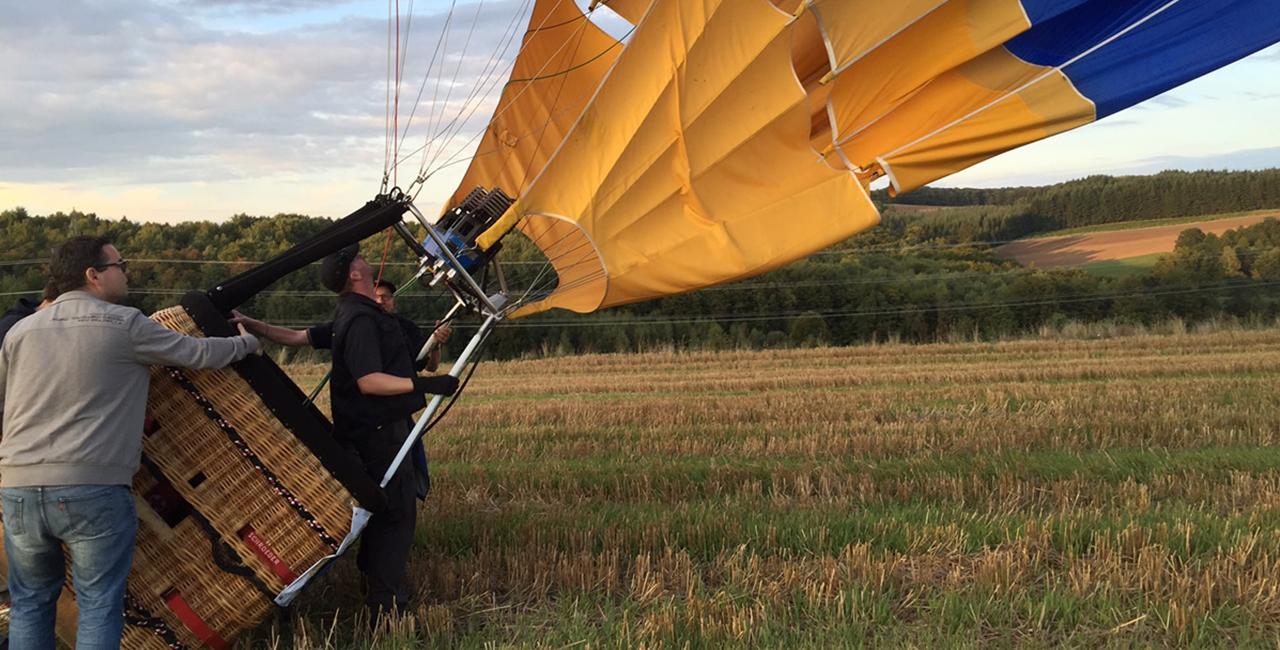 Ballonfahren Frankenthal