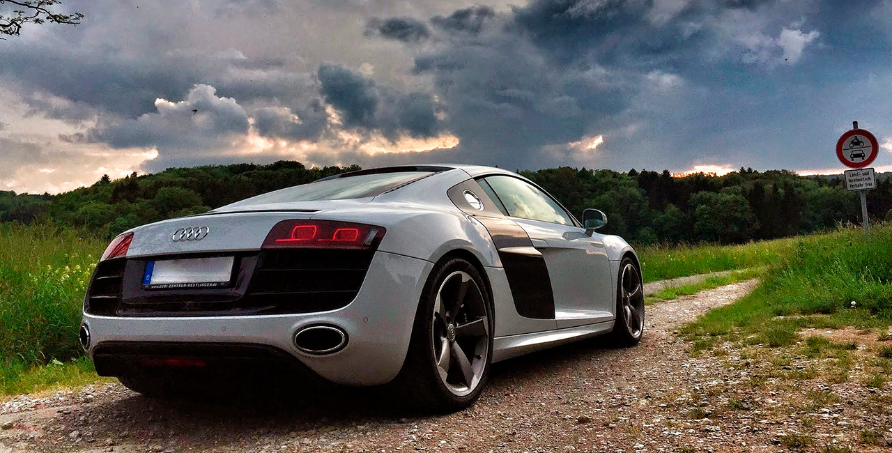 3 Tage Audi R8 V 10 plus mieten in Frankfurt a.M.