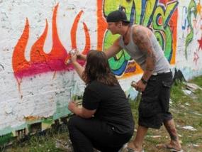 Graffiti-Workshop in Dortmund, NRW