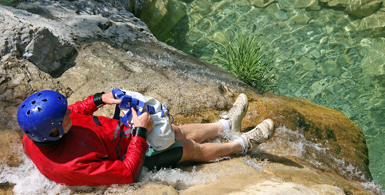 Canyoning Tour `Einsteiger` Gunzesried