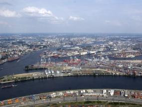Hafenrundfahrt mit dem Bus in Hamburg