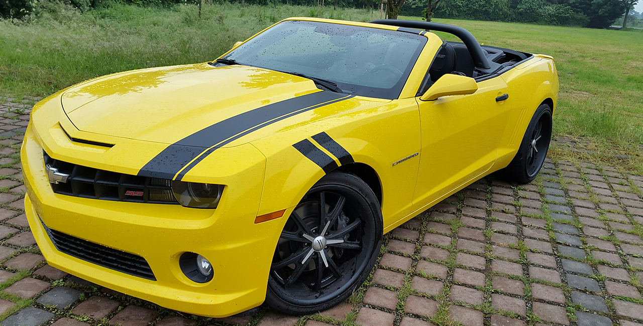 7 tage chevrolet camaro bumblebee mieten in hagen. Black Bedroom Furniture Sets. Home Design Ideas