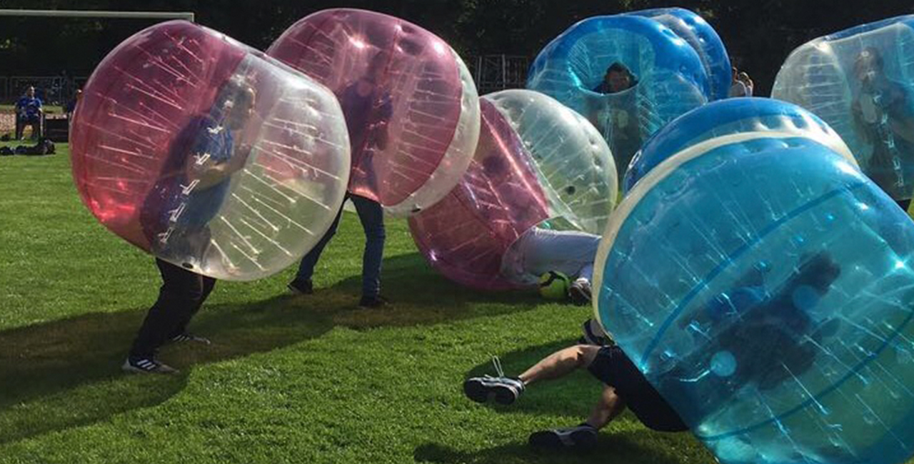 Bubble-Fussball