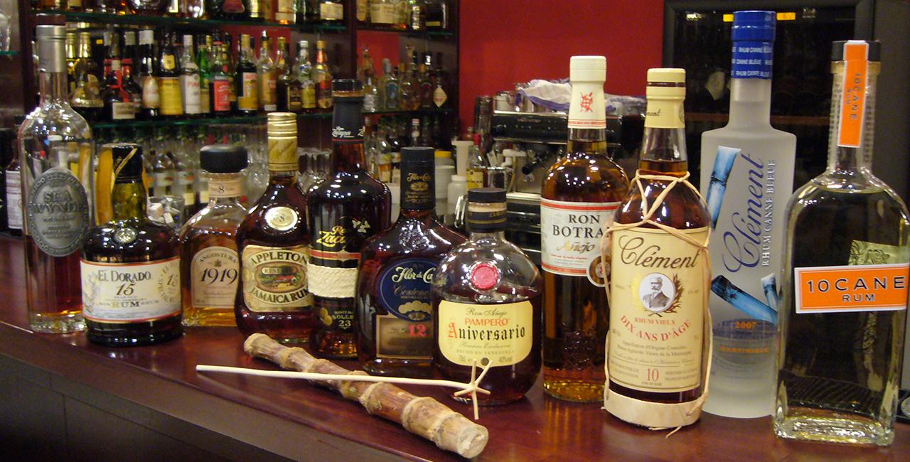 Rum-Tasting