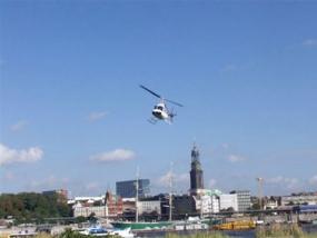Heli selber fliegen in Hamburg