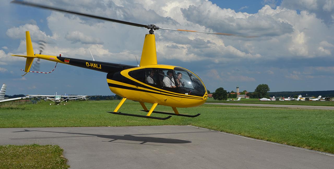 Hubschrauber Rundflug über die 5 Seen in München ab Jesenwang