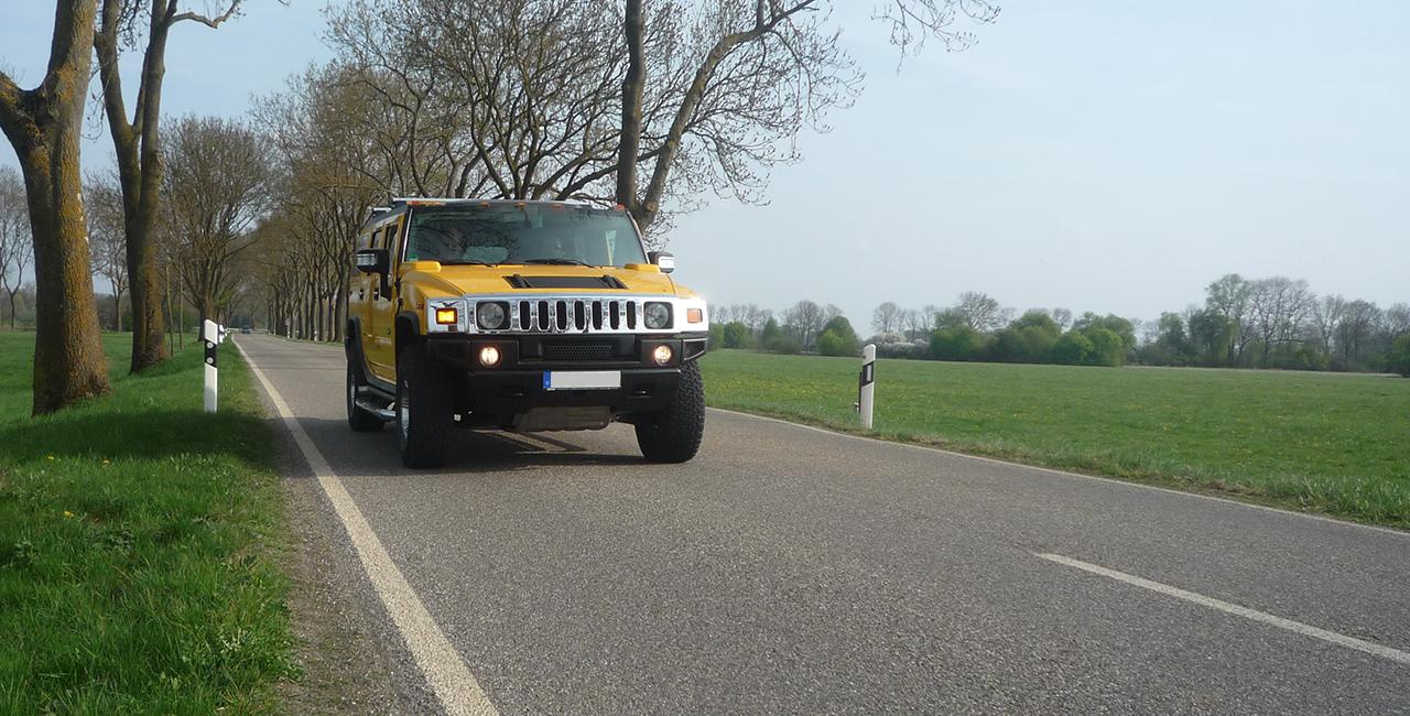 Hummer 2 fahren