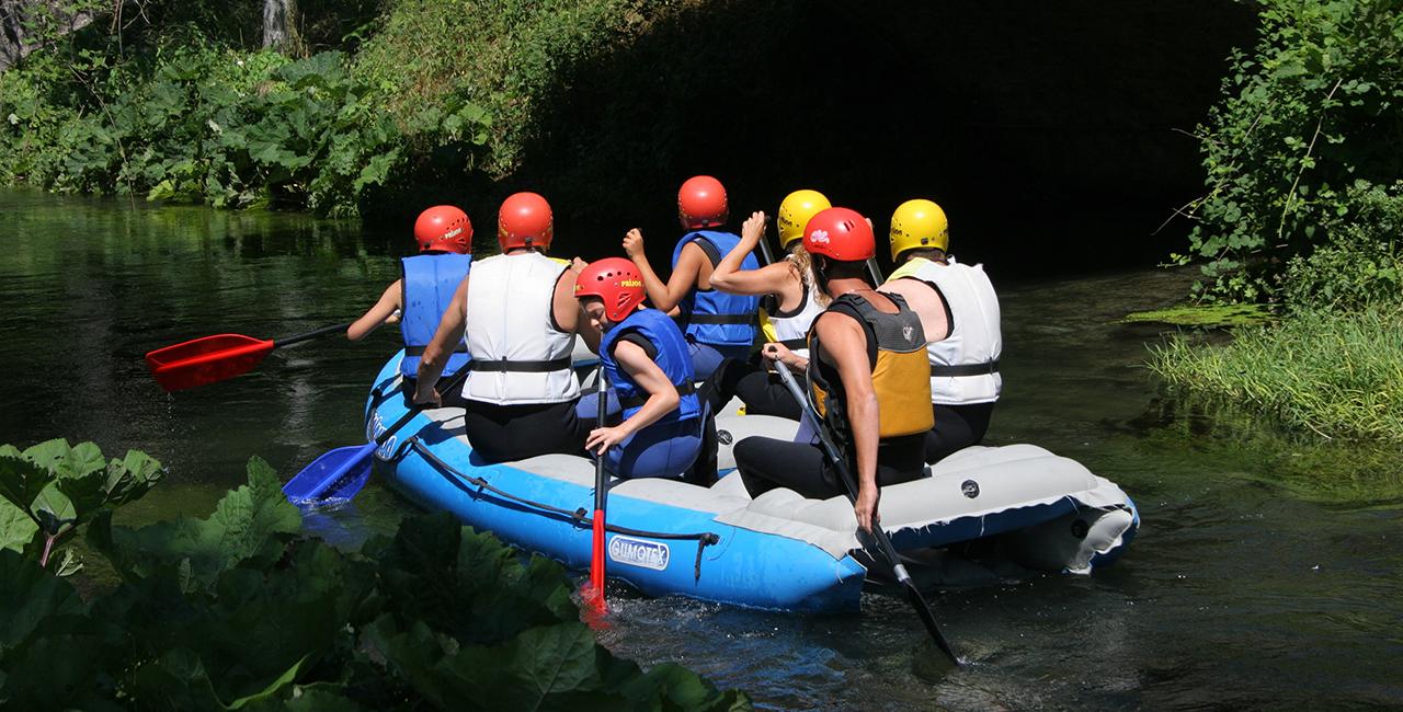 Rafting auf der Iller Immenstadt