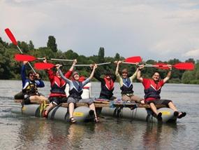Katamaran Rafting Grißheim - Erlebnis Geschenke