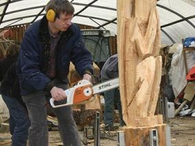 Kettensäge Workshop Ettlingen - Erlebnis Geschenke