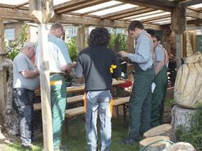 Kettensäge Workshop Wimmenau - Erlebnis Geschenke