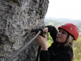Kletterkurs in Hirschbach, Raum Nürnberg in Bayern - Erlebnis Geschenke