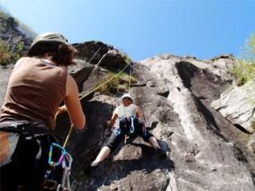 Kletterkurs Outdoor in Hauenstein, Raum Karlsruhe - Erlebnis Geschenke