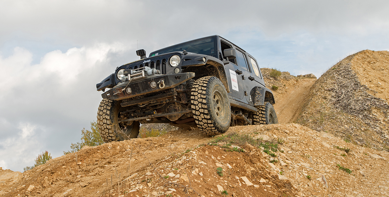 Jeep-Offroad fahren