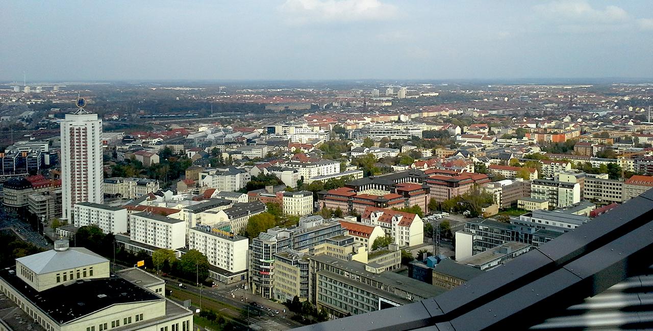 Schnitzeljagd in Leipzig