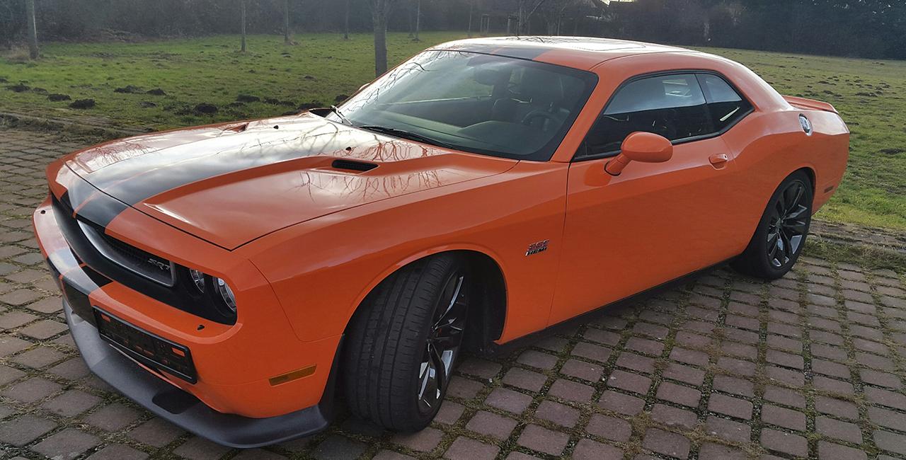 1 Tag Dodge Challenger SRT selber fahren in Limburg an der Lahn