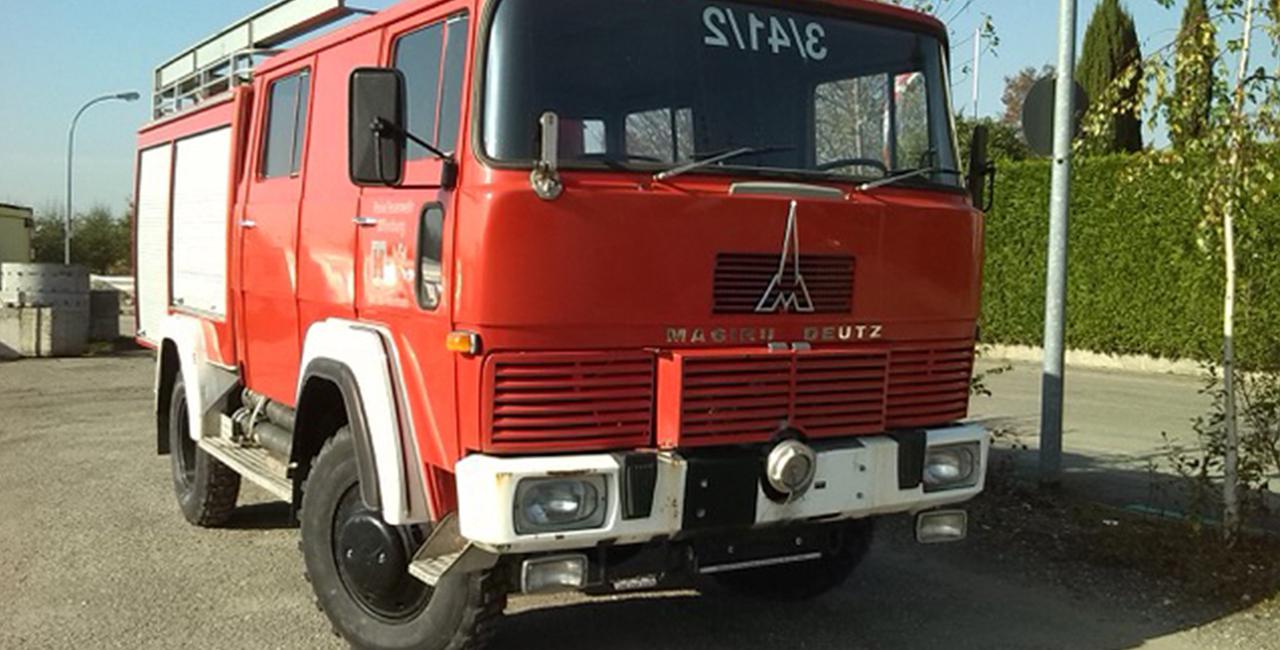 Stadtrundfahrt im Feuerwehrauto für Zwei in Merseburg