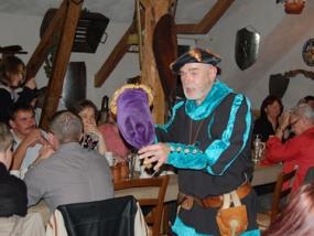 Mittelalterlicher Festschmaus in Goslar, Raum Braunschweig