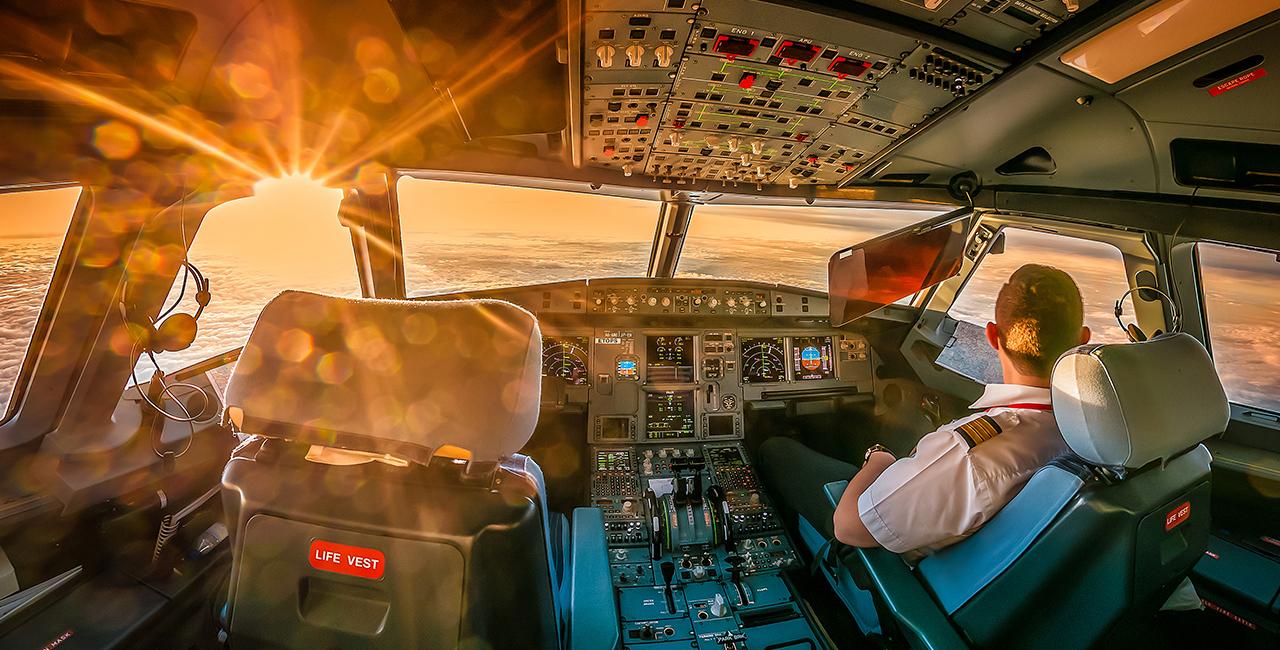 Flugsimulator Airbus A320 in Frankfurt-Egelsbach