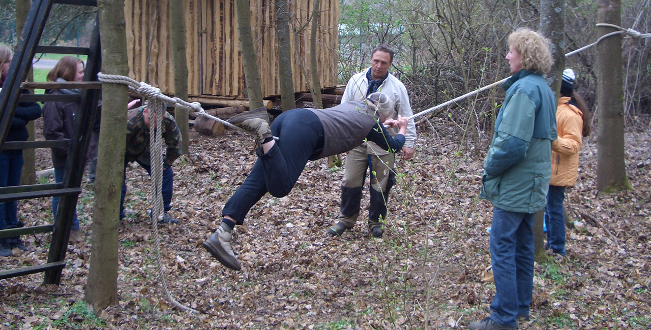 Actioncamps und Survivaltraining
