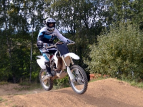 Motocross fahren in Regen, Raum Deggendorf in Bayern - Erlebnis Geschenke