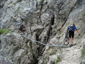 Mountainbike Tour im Kleinwalsertal, Raum Bregenz - Erlebnis Geschenke