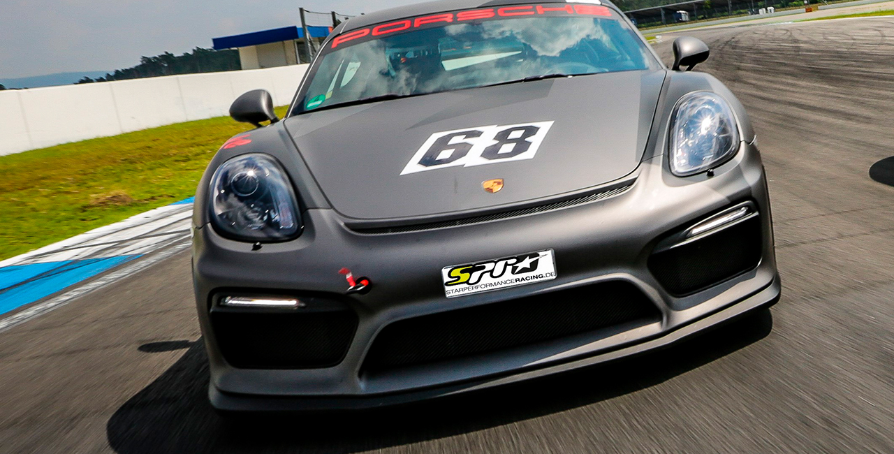 6 Runden Porsche GT3 selber fahren auf dem Bilster Berg