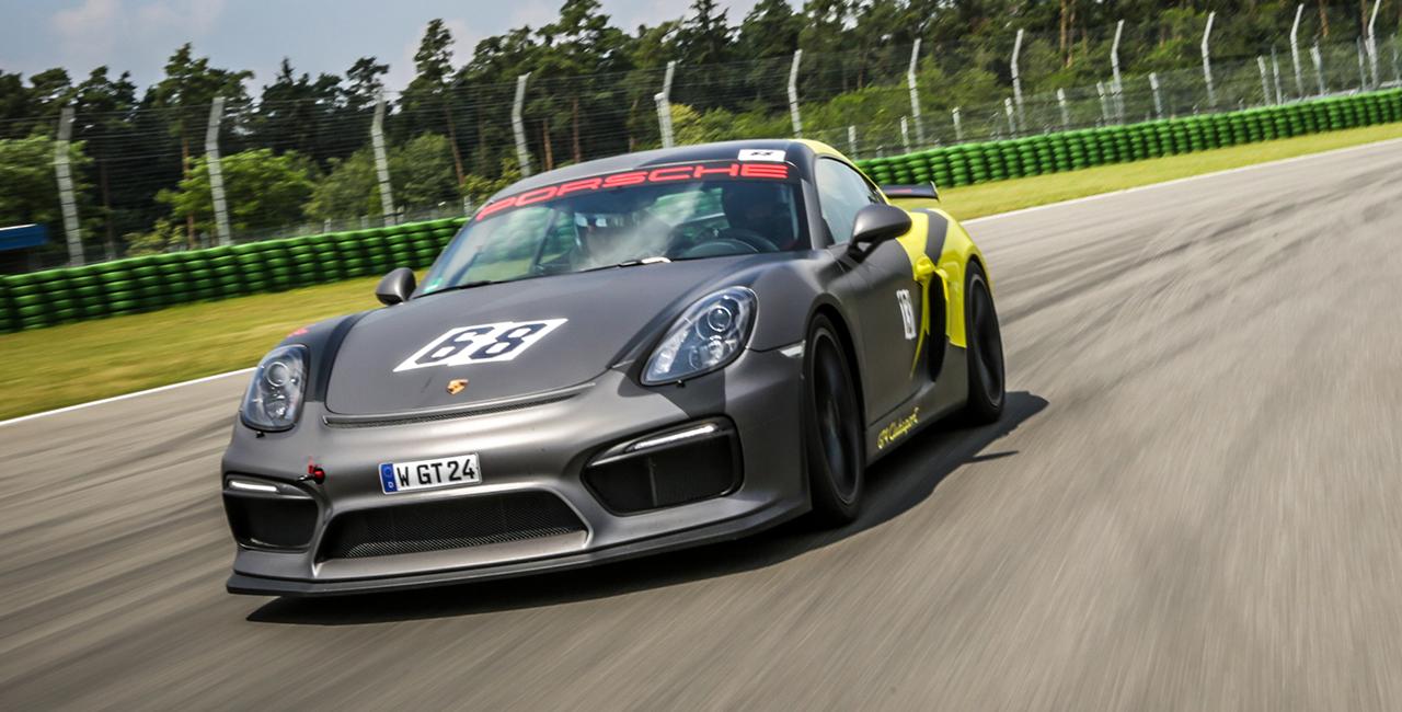 8 Runden Porsche GT3 selber fahren auf dem Nürburgring