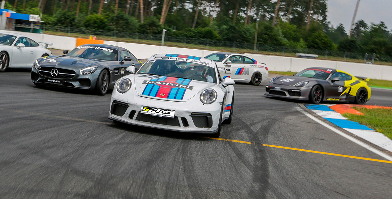 8 Runden Porsche GT3 selber fahren auf dem Spa-Francorchmaps
