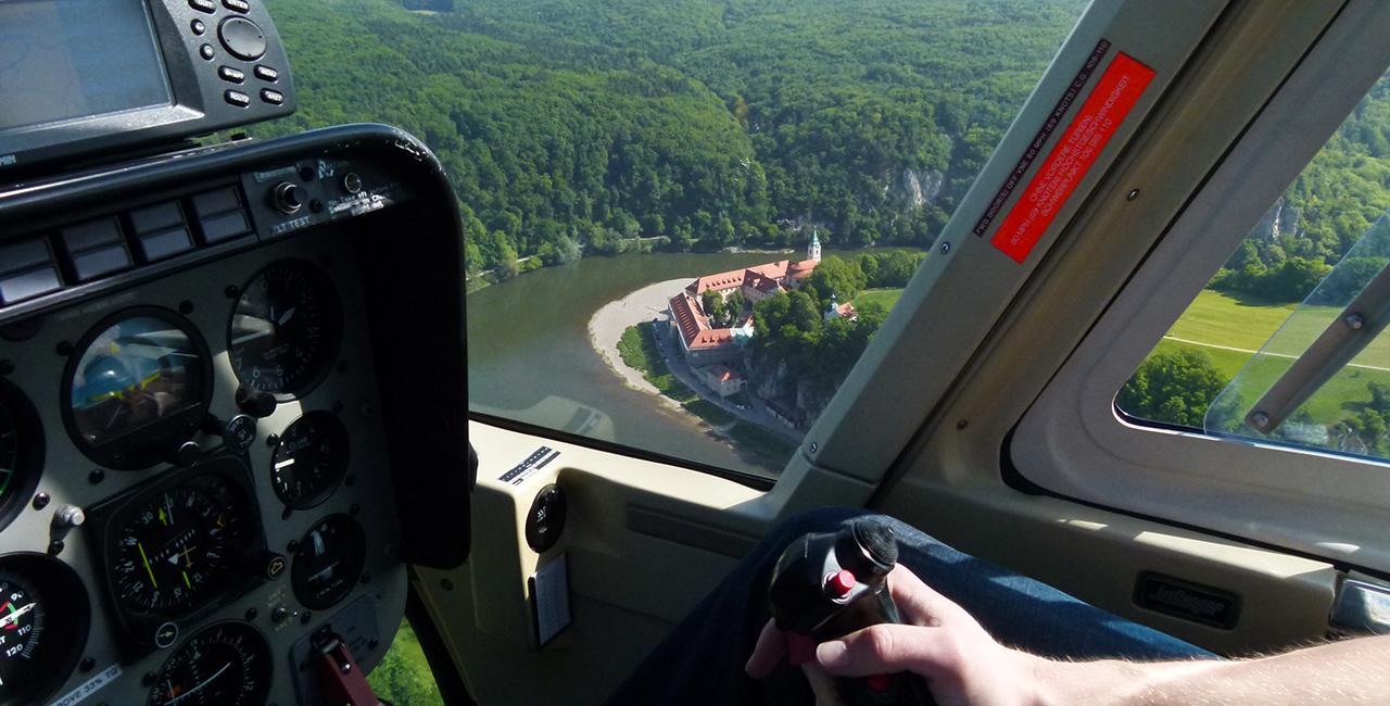 20 Min. Hubschrauber Rundflug ab Nürnberg