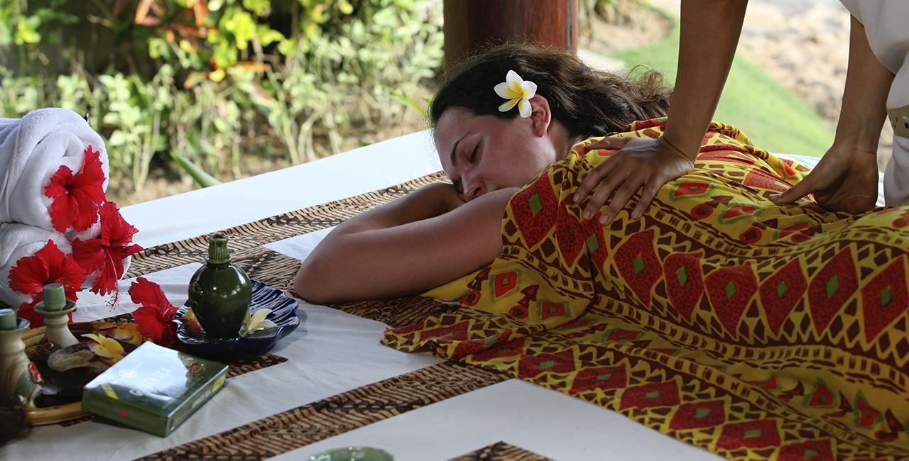 Philippinische Massagen