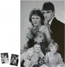 Pop Art Doppelportrait (120x90) nach Roy Lichtenstein München - Erlebnis Geschenke