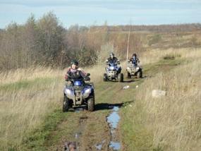 Quad Offroad Tour Leipziger Seenlandschaft in Kahnsdorf - Erlebnis Geschenke