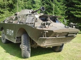 Radpanzer SPW 40 fahren in Benneckenstein im Harz - Erlebnis Geschenke
