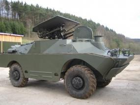 Radpanzer SPW40 fahren in Königsee, Raum Erfurt in Thüringen - Erlebnis Geschenke