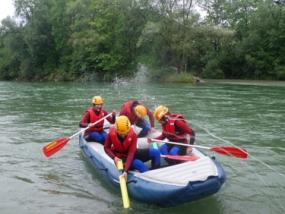 Rafting auf der Iller in Gunzesried, Allgäu - Erlebnis Geschenke