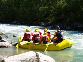 Rafting auf der Iller in Sonthofen, Allgäu - Erlebnis Geschenke