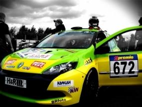 Renault Cup Clio III selber fahren auf der Teststrecke in Dahlem