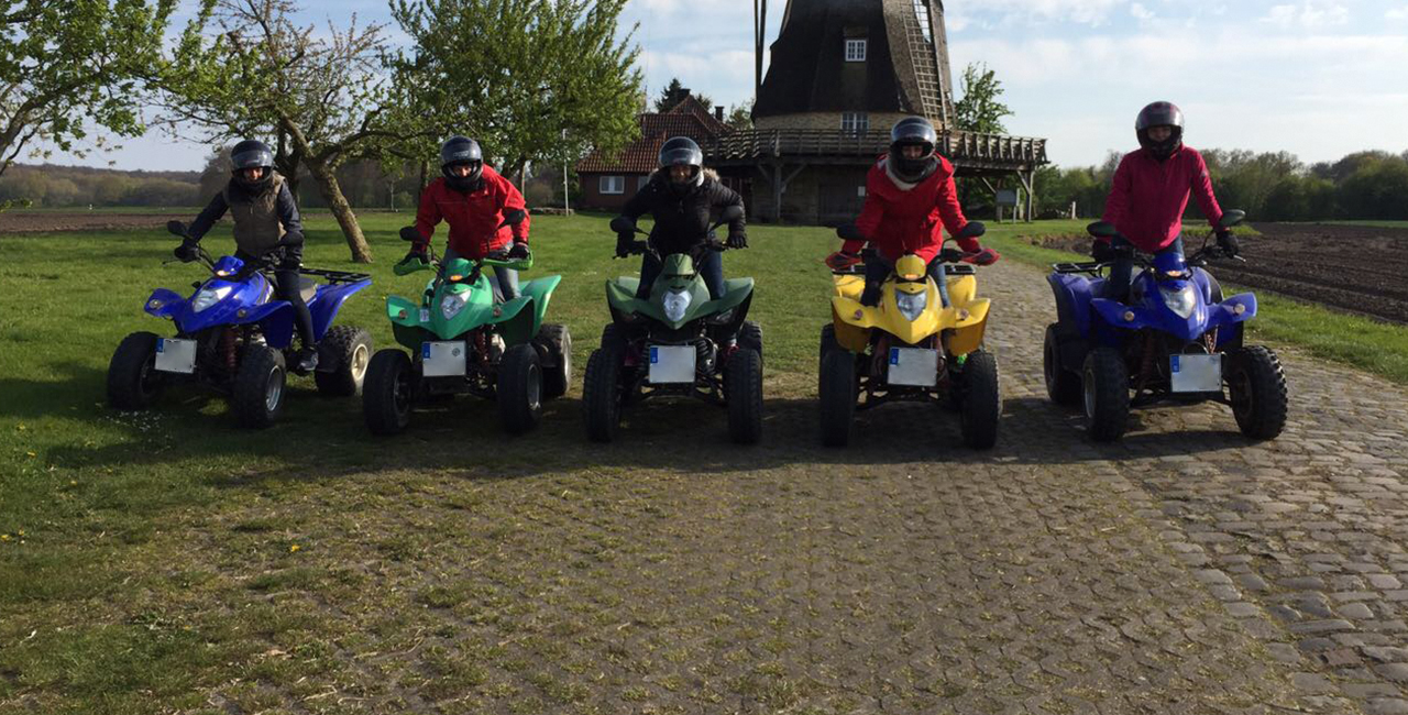 3 Std. Quad Tour in Rheine
